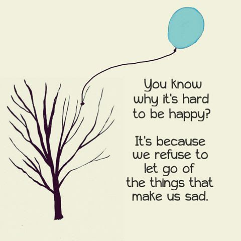 Let Go and move on.
