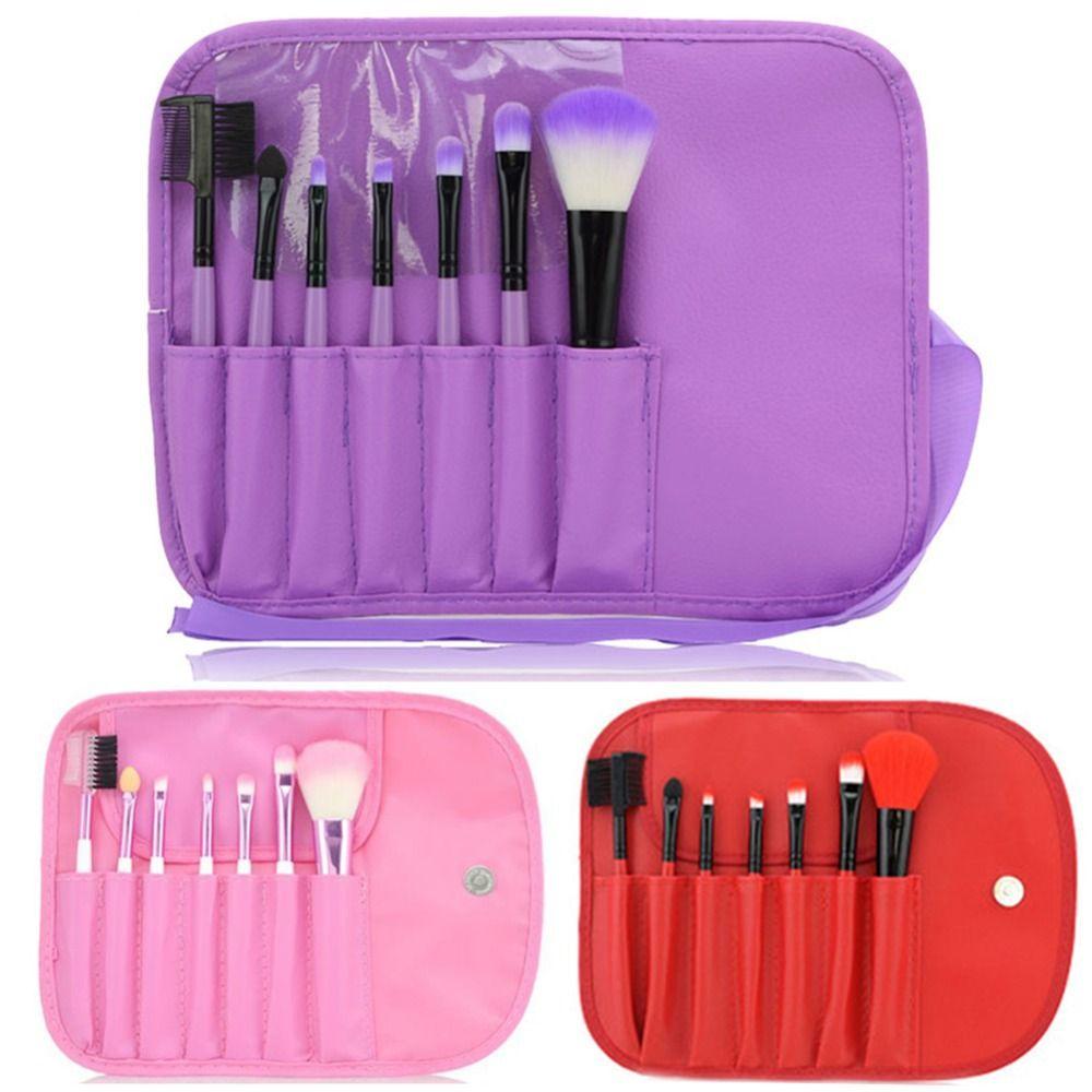 Pennelli trucco Set Powder Foundation Ombretto Eyeliner Lip Strumento Pennello 7 pz Vendita Calda di Vendita Calda