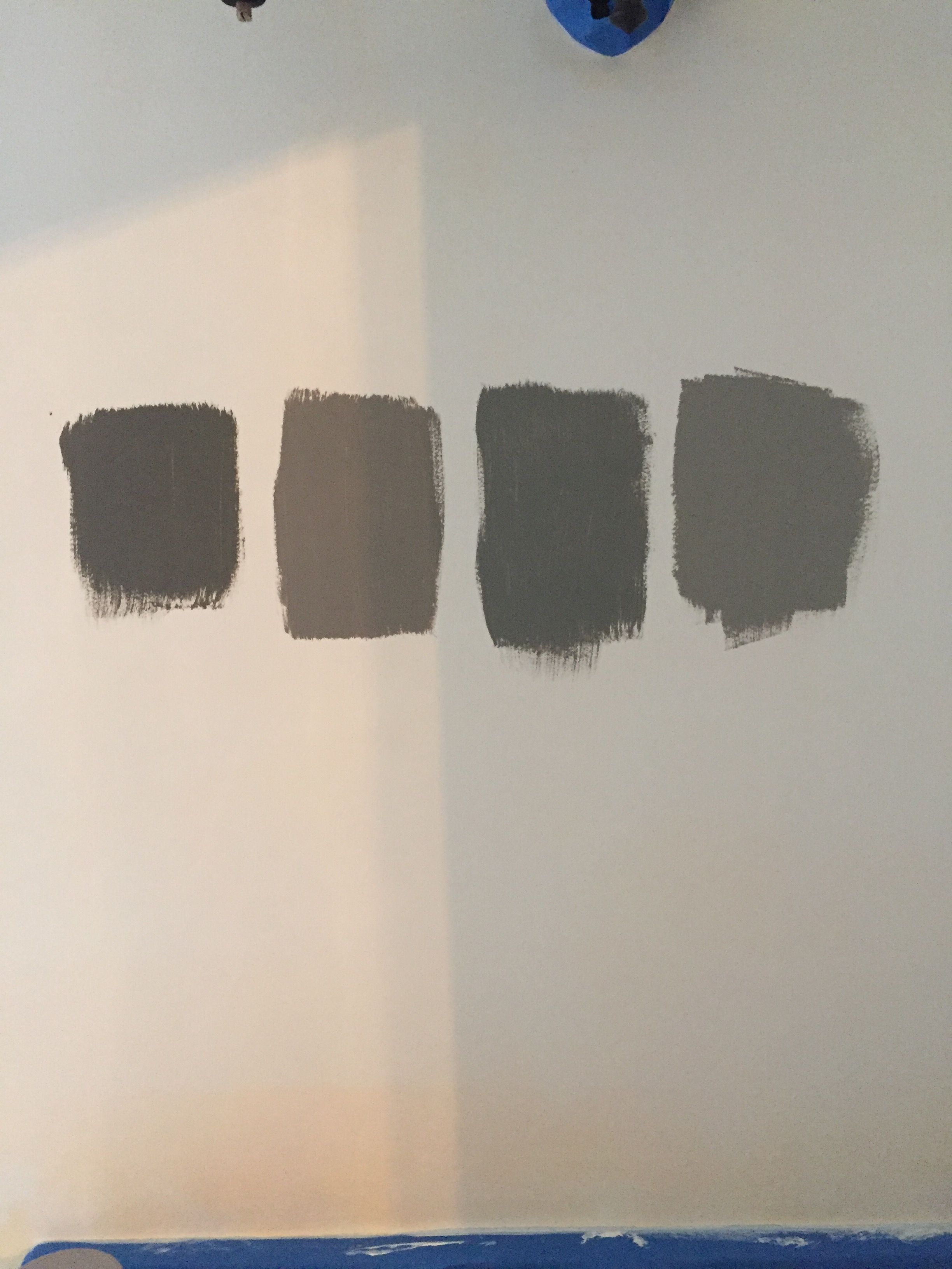 Sherwin Williams Paint Colors From Left To Right Gauntlet Gray Dovetail Clic French Acier