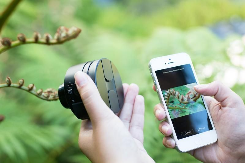 New tech must have: The Sony Smart Lens! Works with any iphone or tablet