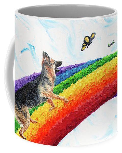 Zane's Rainbow Coffee Mug for Sale by Cynthia Christine ...