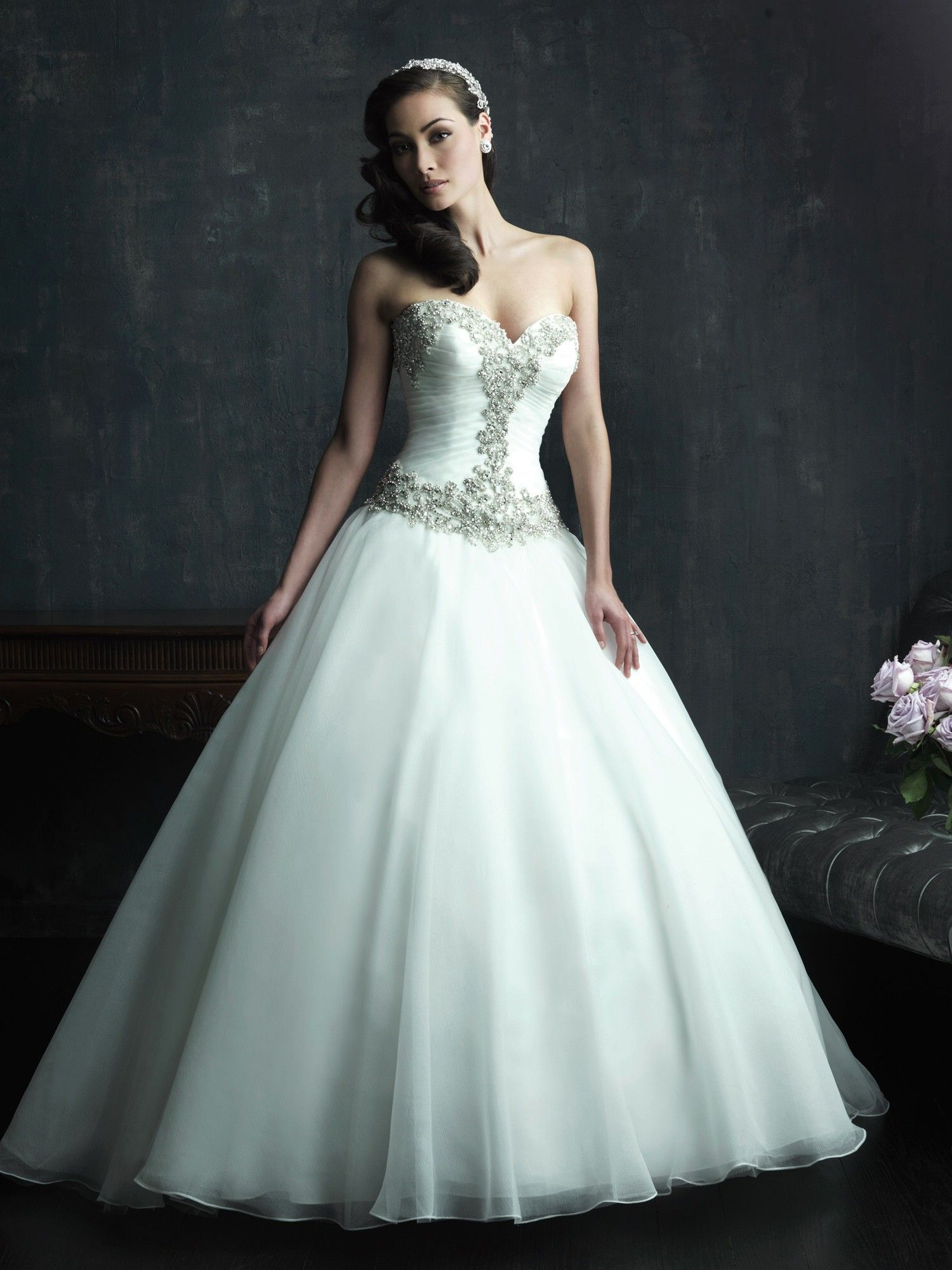 Allure Couture Wedding Dresses - Style C269 #ballgown #wedding ...