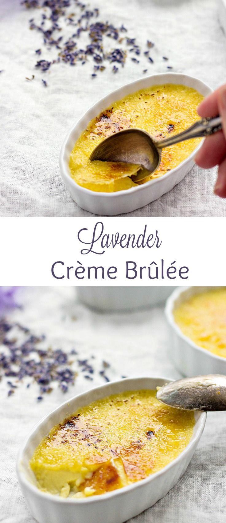 Lavender Creme Brulee Recipe - Lavender & Macarons