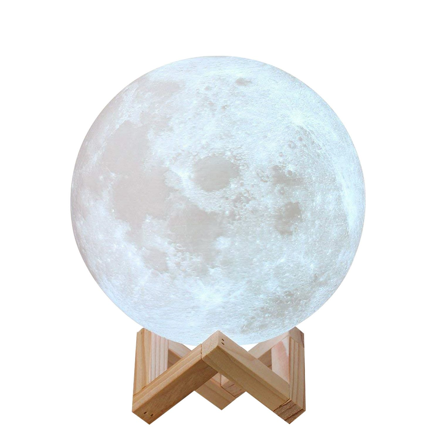 Lampe Lune 3d Lamp Led Night Light Light Decorations