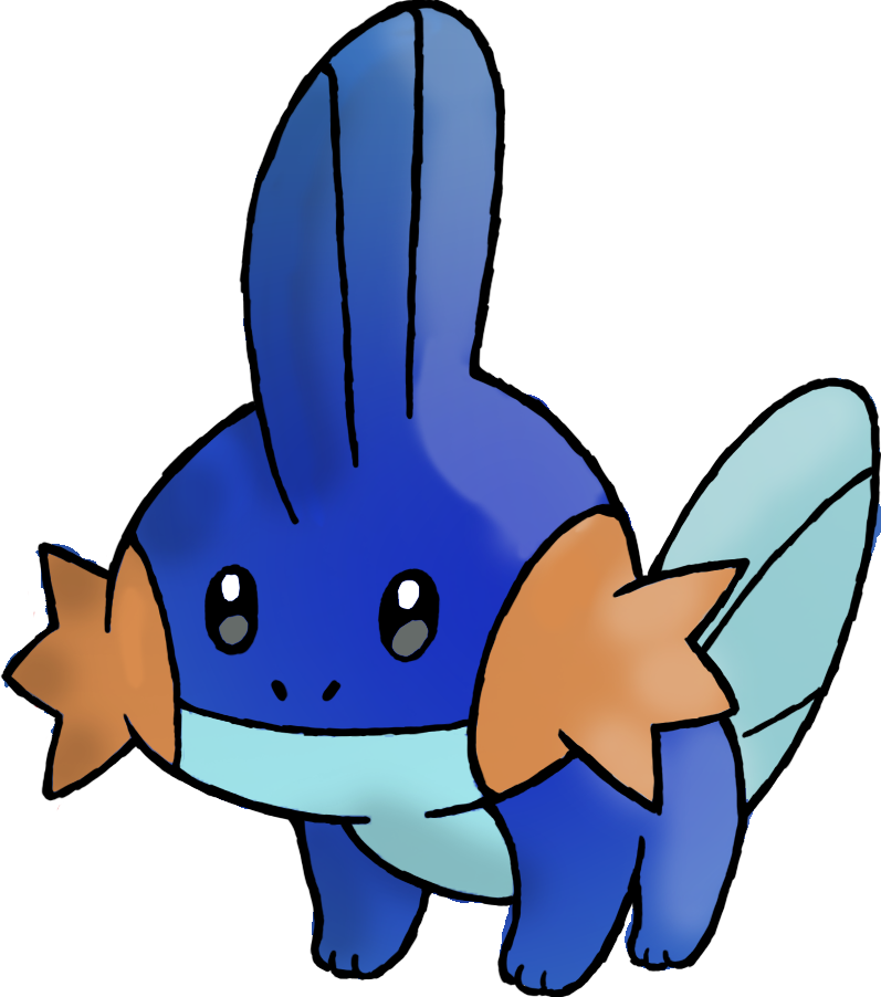 This is Mudkip from Pokémon. Pokemon, Rescue team, Red