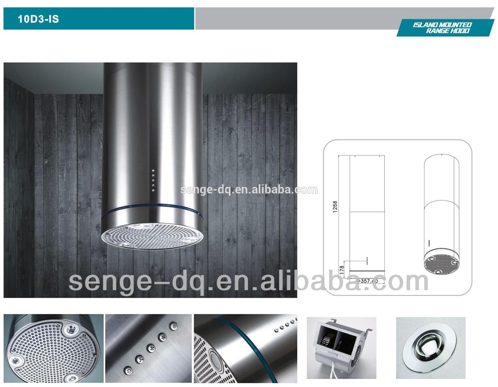 Round Island Cooker Hood Photo Detailed About Round Island Cooker Hood Picture On Alibaba Com Island Cooker Hoods Cooker Hoods Kitchen Island Range Hood