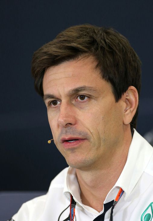 Toto Wolff, Mexican GP, 2015