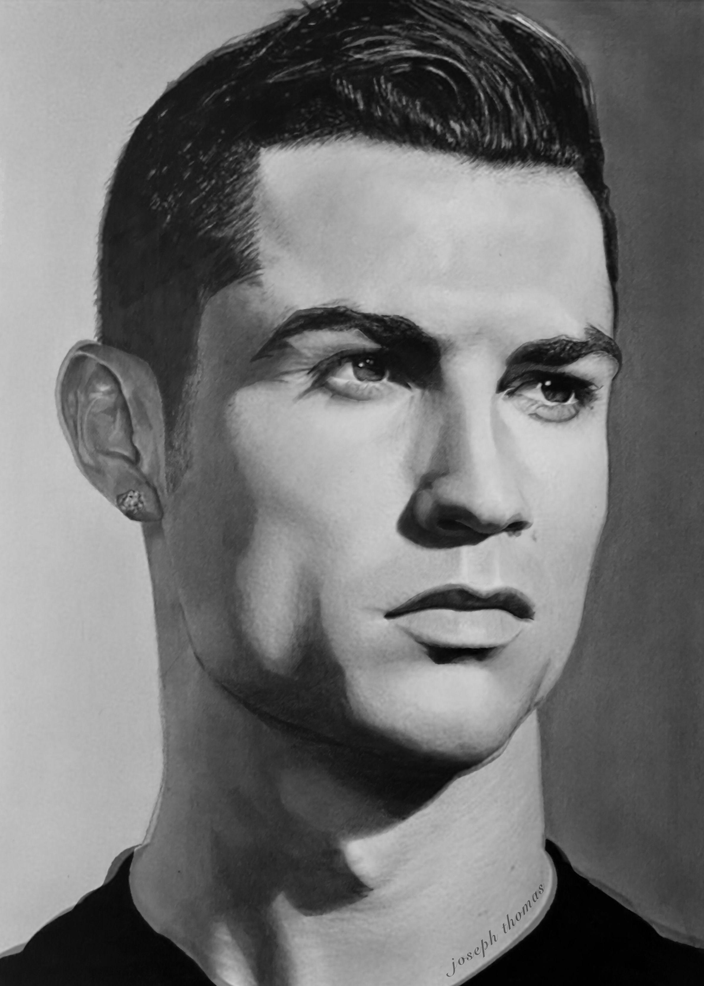 Cristiano Ronaldo Pencil Drawing Ronaldo Wallpapers Cristiano Ronaldo Wallpapers Pencil Drawings