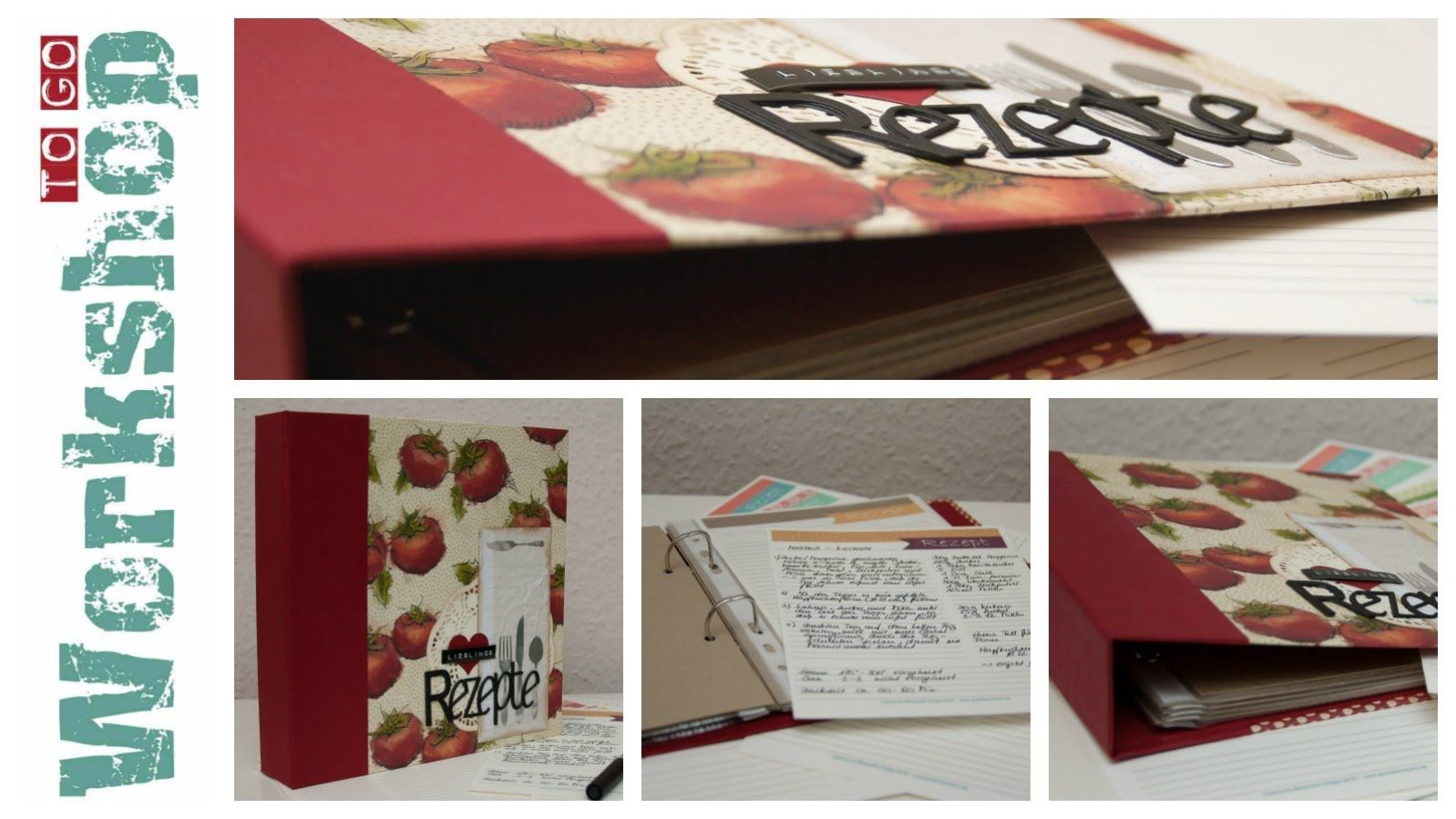 Workshop to go! - Rezeptbuch - Hardcover mit Ringbindung - Stampin' Up! ...