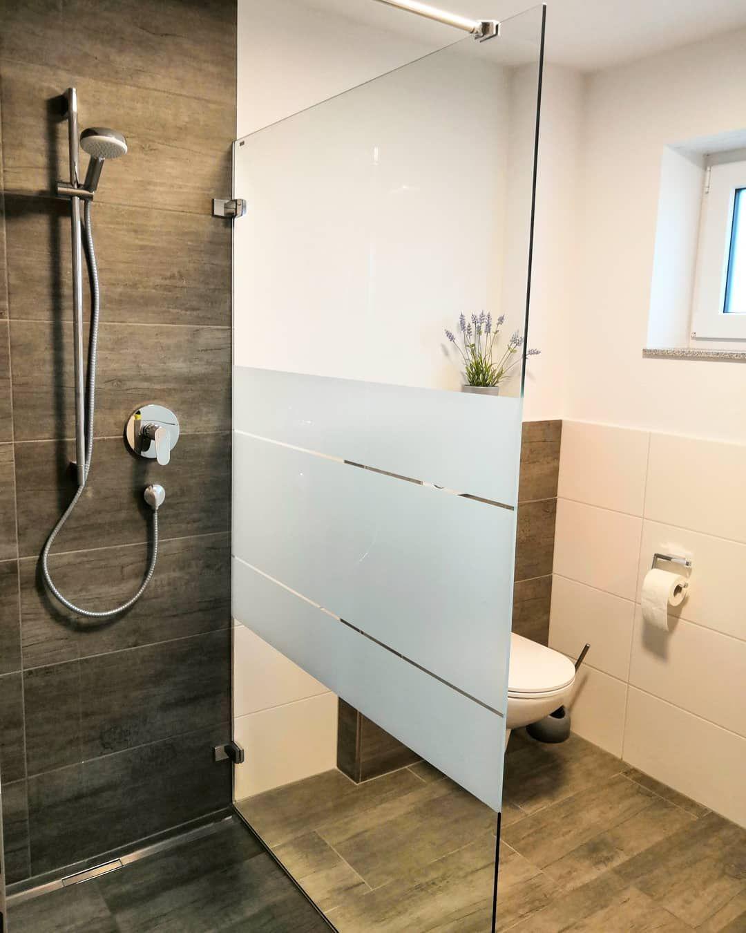 Heute wurde endlich auch das untere Badezimmer fertig ...