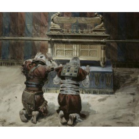 Moses and Joshua in the Tabernacle James Tissot (1836-1902French - last will and testament form