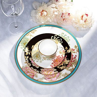 Painted Camellia Dinnerware By Marchesa For Lenox Has Been One Of The Most  Popular Formal Patterns · Place SettingsTable ...