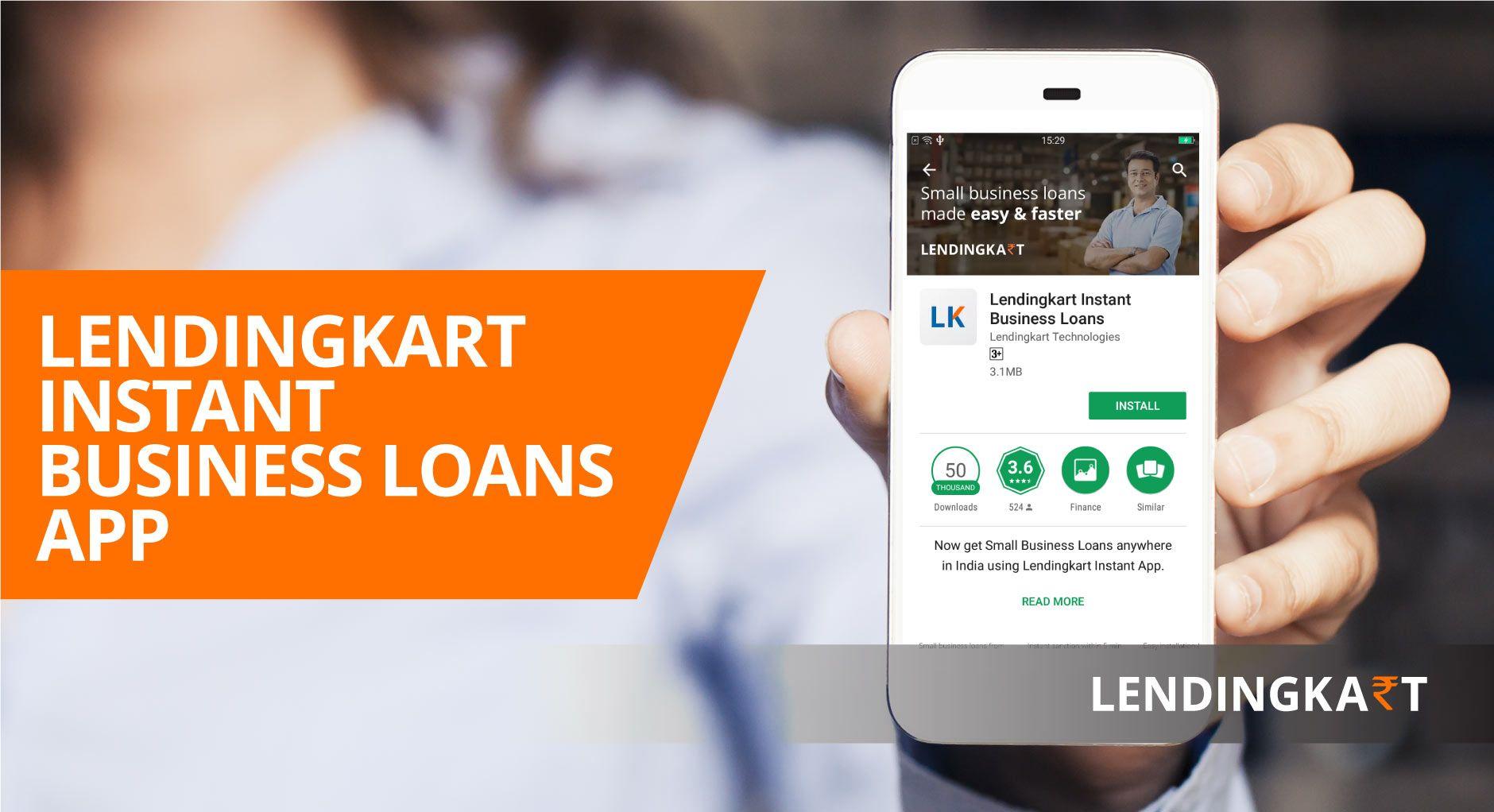 Lendingkart Finance Mobile A First Of Its Kind Mobile Application