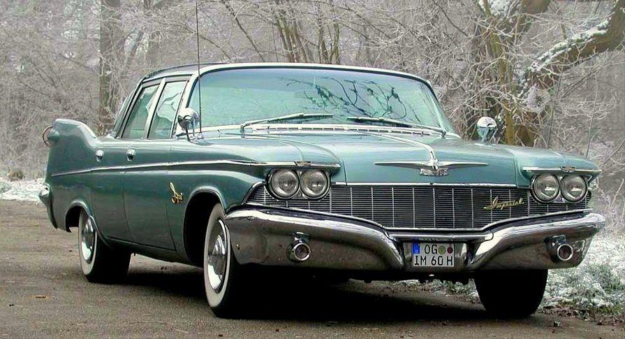 1960 Imperial Crown Chrysler Imperial Chrysler Cars Chrysler