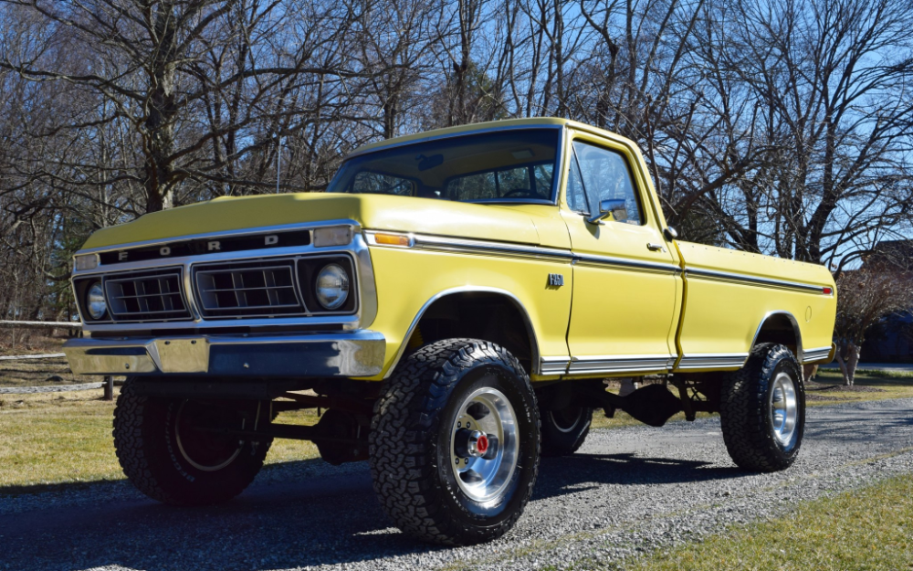 1976 Ford F 250 Highboy 4 Speed In 2020 F250 Ford Classic Cars