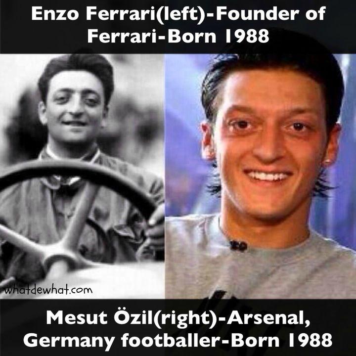 Reincarnation Ferrari Mesut Ozil Ozil