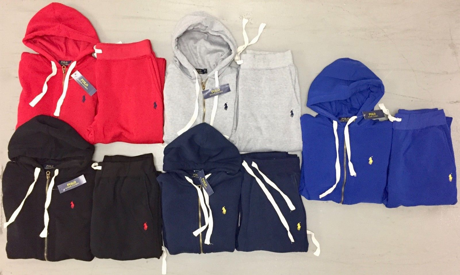 c8930f1a9033 NEW POLO RALPH LAUREN MENS SWEAT SUIT COMPLETE SET JOGGING SUIT FREE  SHIPPING