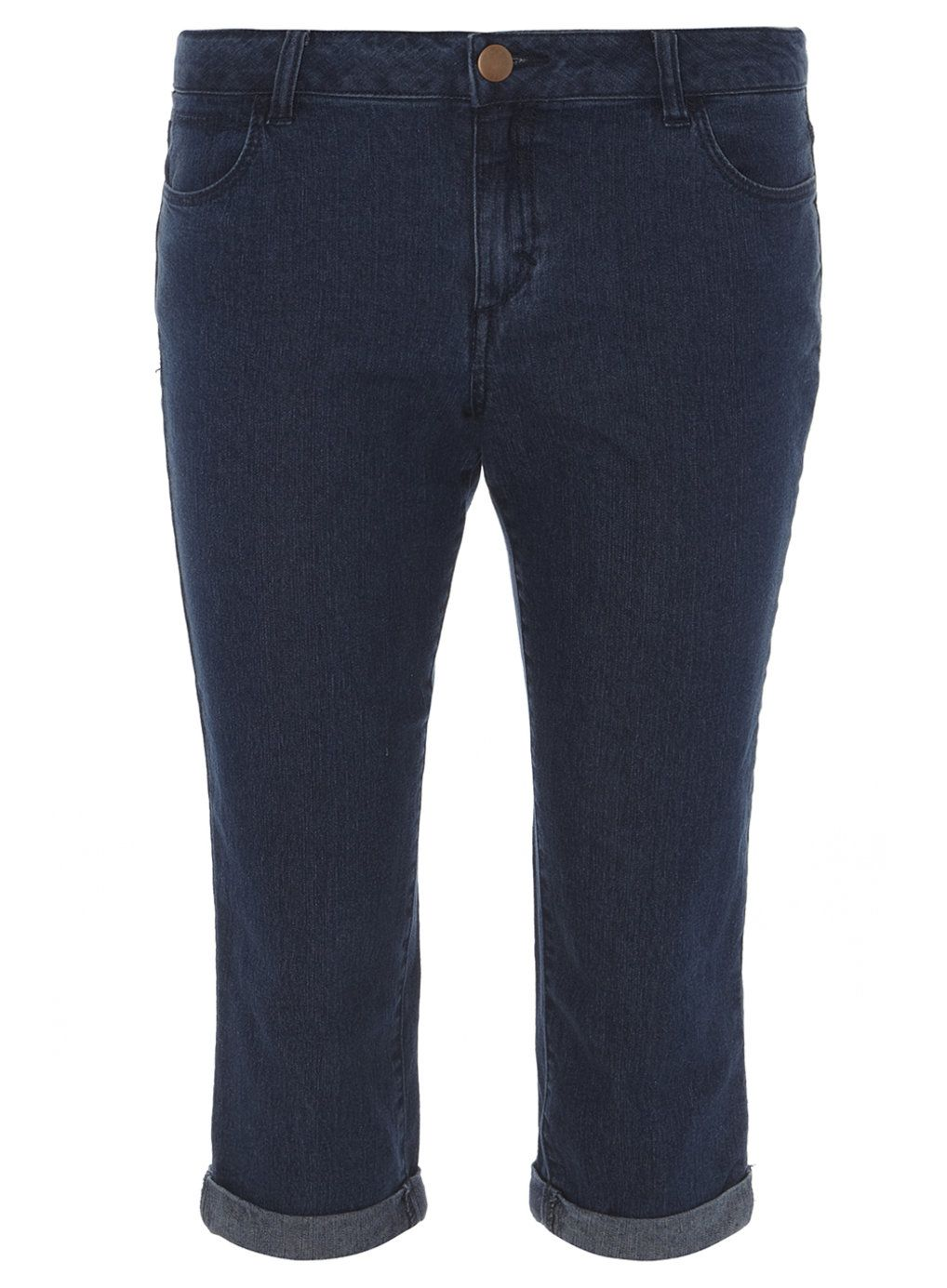 Mid Wash Crop Jeans - New In Clothing - New In - Dorothy Perkins