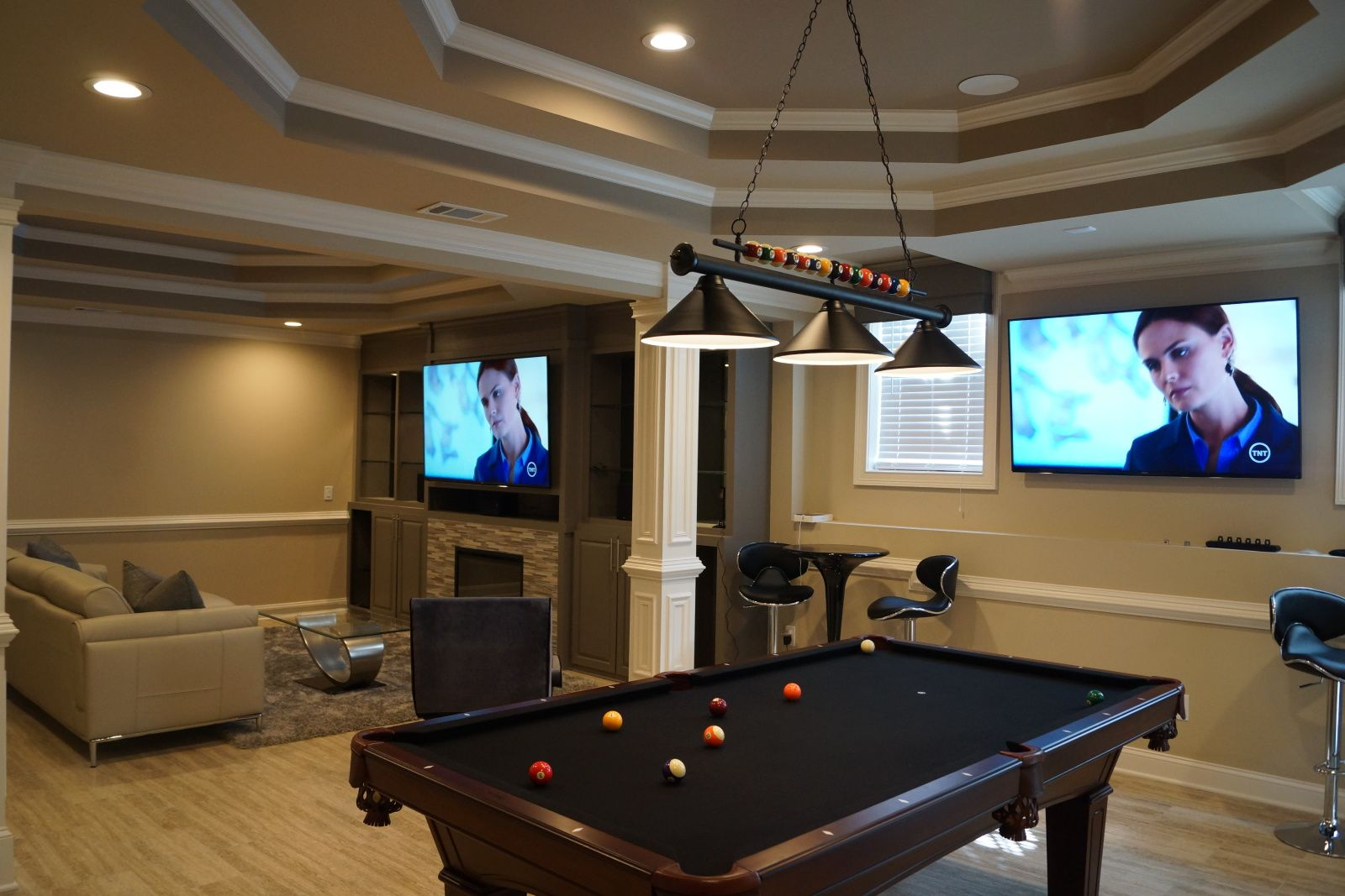 One of our recent home theater installations. Learn more