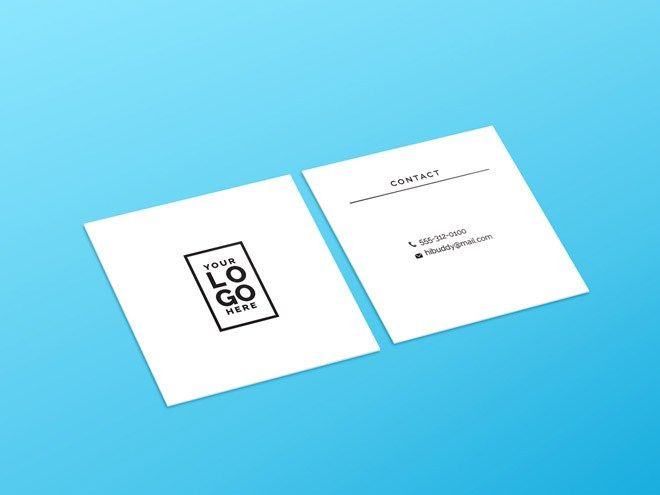Free square business card mockup psd design advices and resources free square business card mockup psd reheart