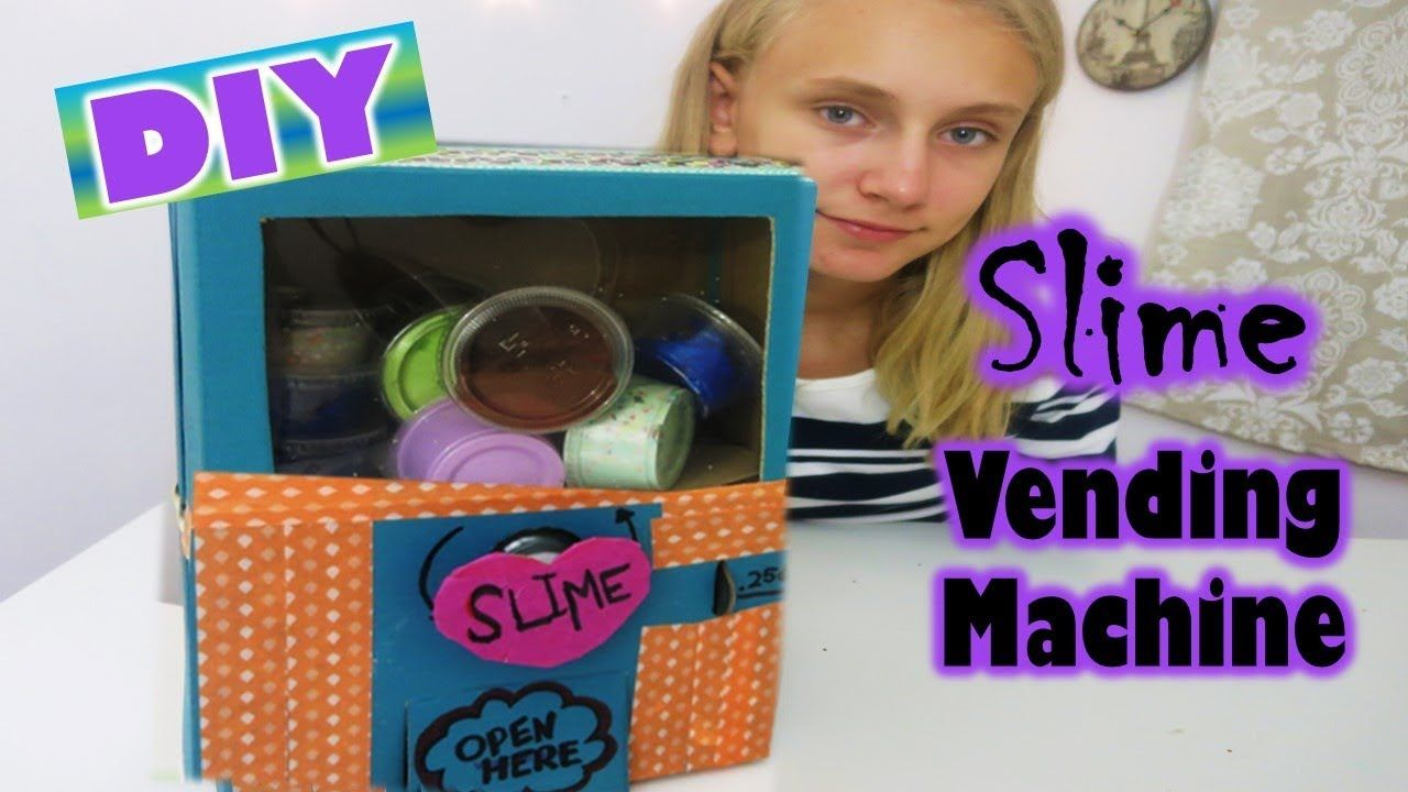 Slime Vending Machine Diy It Really Works Lylah S Board