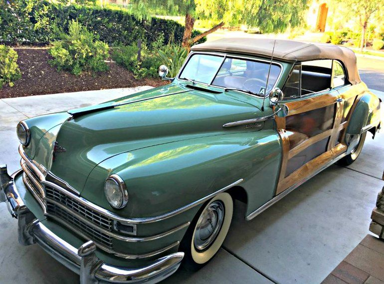 1947 Chrysler Town Country Windsor Convertible Chrysler Town