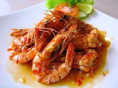 Resep Udang Saus Padang Enak Ala Seafood Kaki Lima Bumbu Balado Resep Udang Resep Makanan Bayi Resep