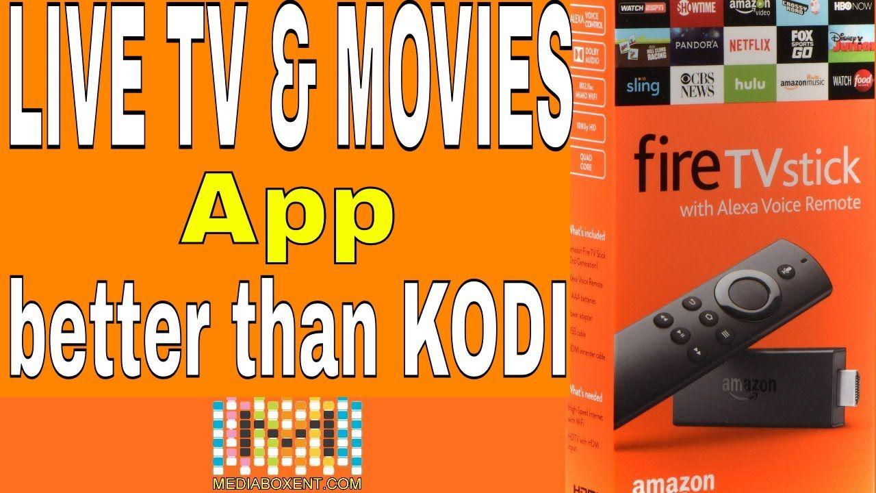 FREE APP FOR AMAZON FIRESTICK AMAZING LIVE TV & MOVIES