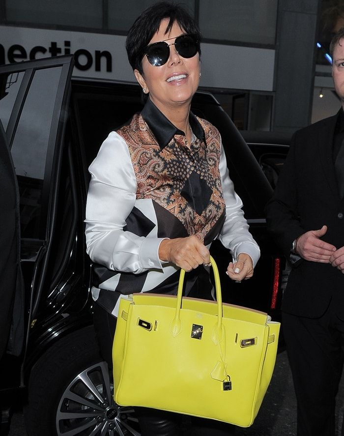 Kris Jenner Rocks Givenchy Paisley Silk Blouse in Brown and Red ... cf038a50ba727