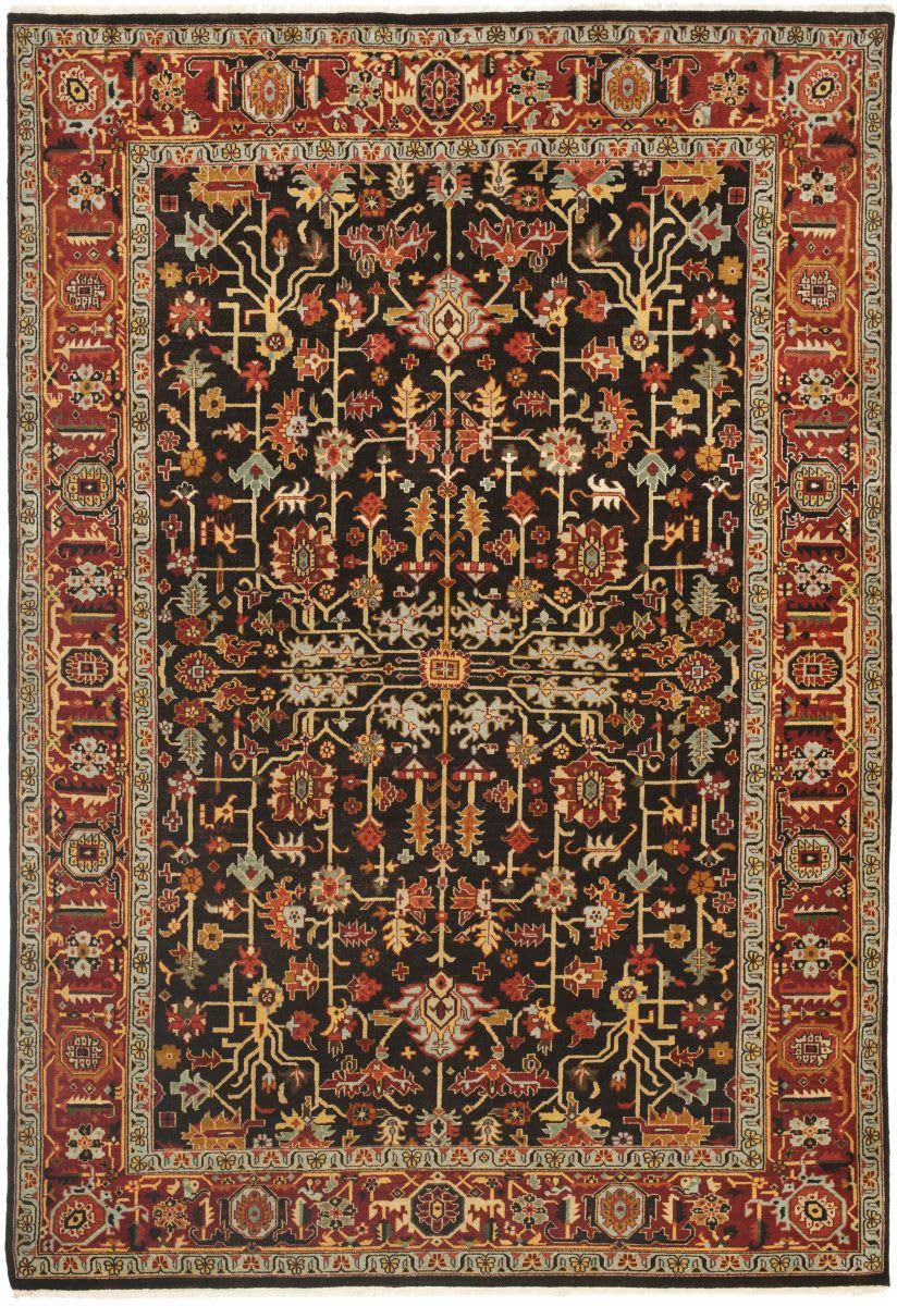 Ralph Lauren Wexford Rlr7611b Antique Brown Area Rug Carpet Shops