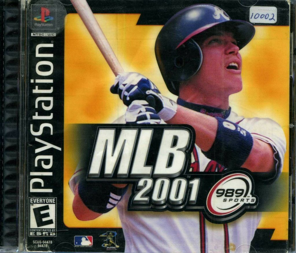 MLB 2001 Playstation (2/29/00) Mlb, Playstation, Sony