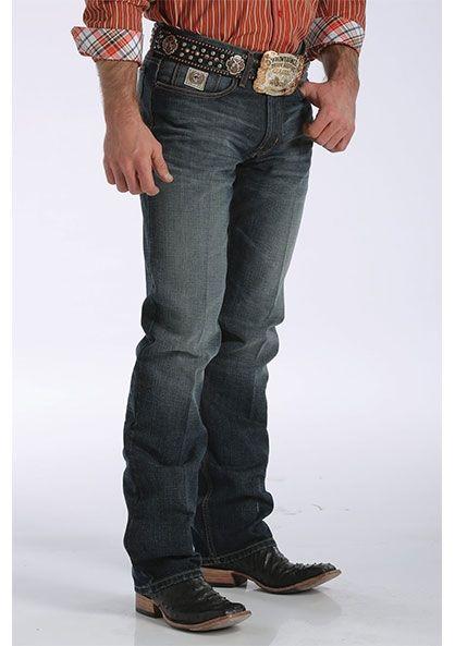0fc7ac8f Cinch Men's White Label Dark Tinted Jeans MB92834019 | Western wear ...