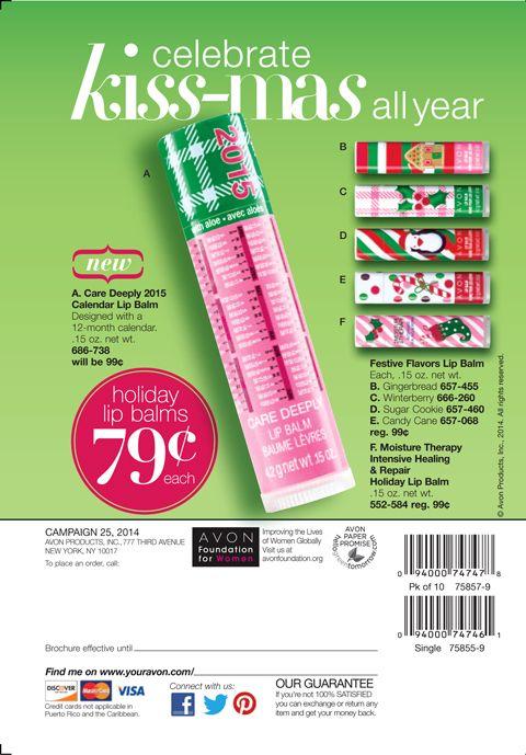 Holiday Lip Balms $0.79
