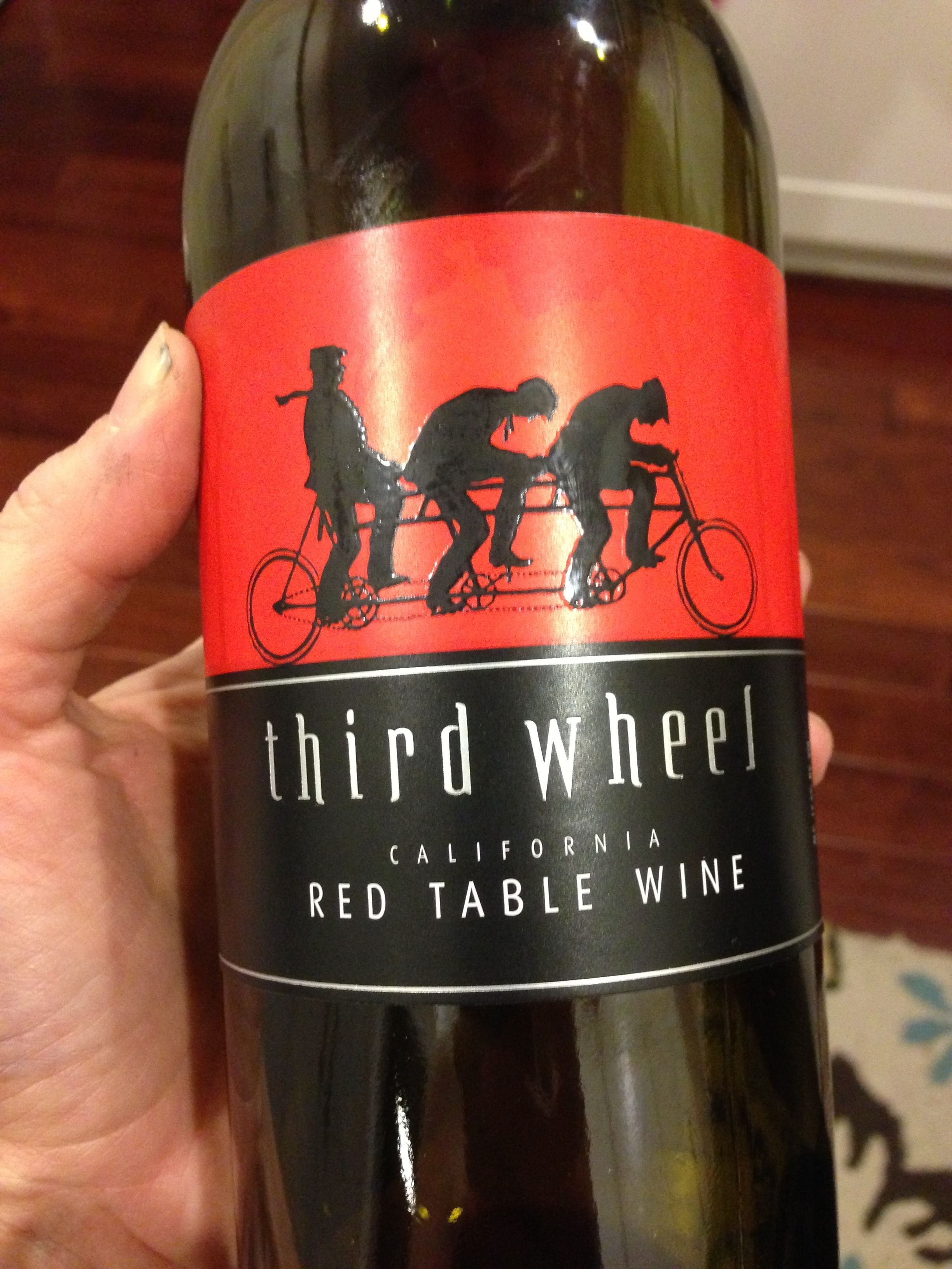 My New Favorite Red Blend Third Wheel 10 At Total Wine Favorite Wine Wine Bottle Total Wine