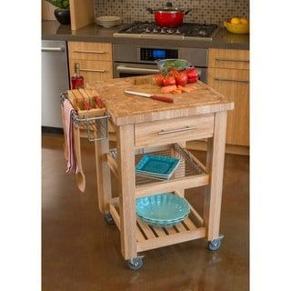 Chris U0026 Chris 24x24 Inch Natural Finish Pro Chef Kitchen Work Station