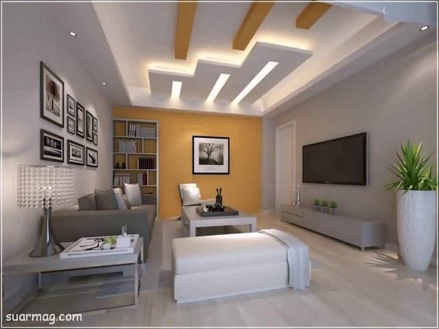 اجمل اشكال اسقف جبس بورد للصالات مستطيلة 2020 جميلة False Ceiling Living Room Ceiling Design Bedroom Ceiling Design Modern