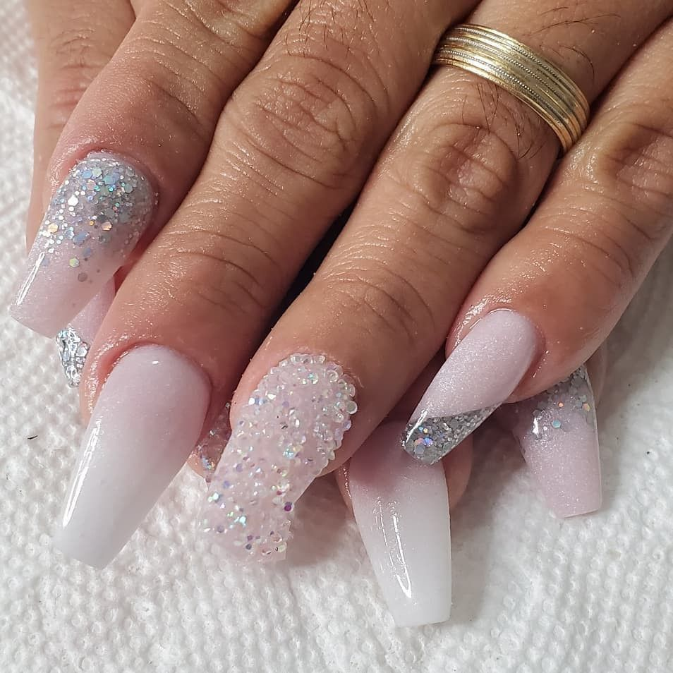 58 Awesome Pink Ombre Coffin Nails Designs On Instagram Nail