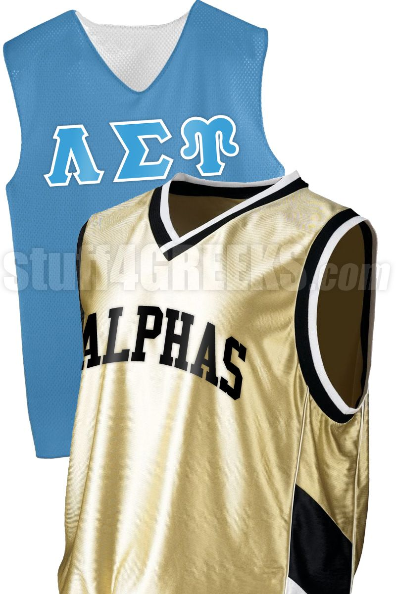 CUSTOM GREEK BASKETBALL JERSEY Item Id: CUS-BSKTBL Price: $49.00 ...