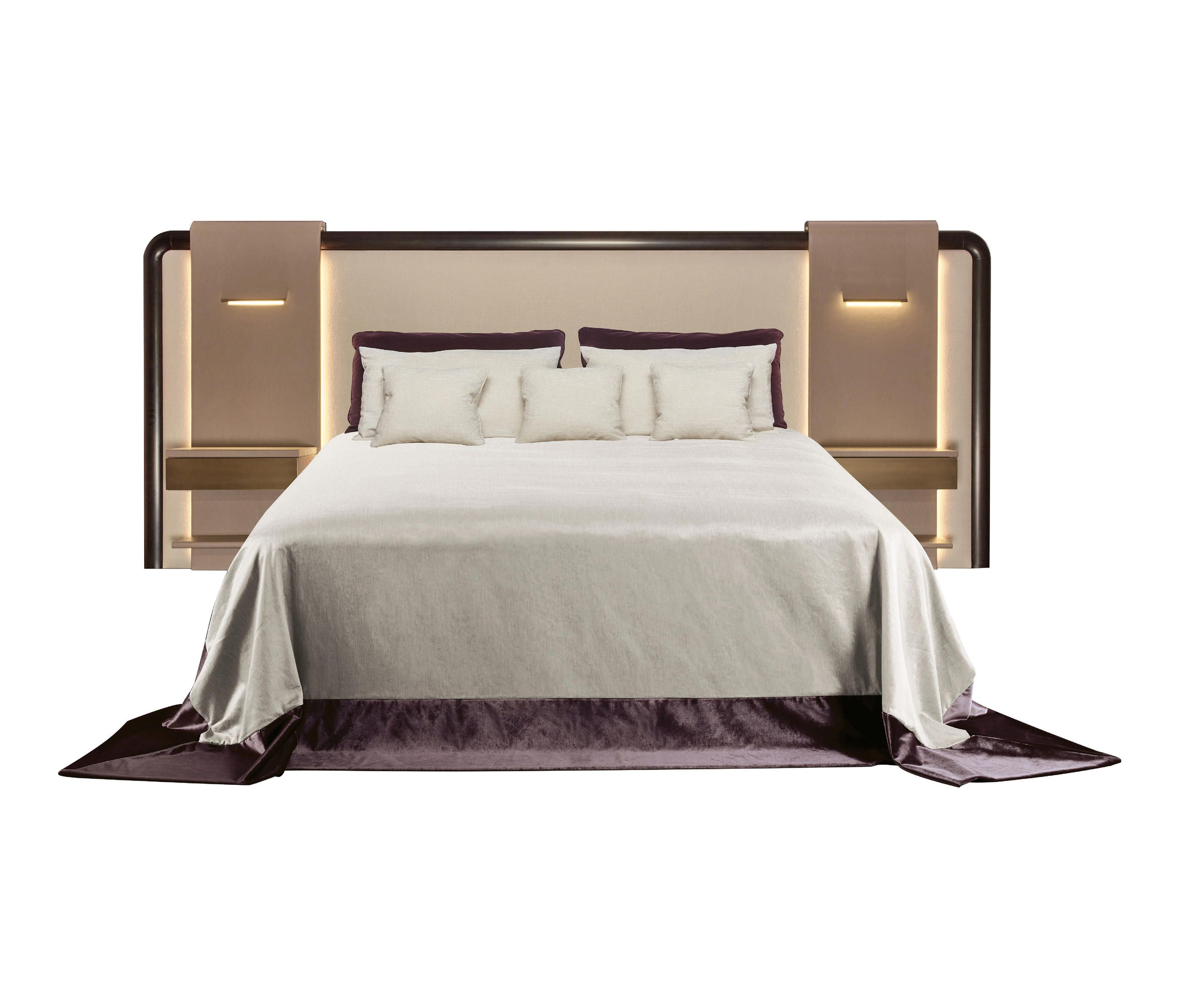 Cover Headboard With Fabric Headboard Covering In Fabric With Profile In Beech Or Bruno