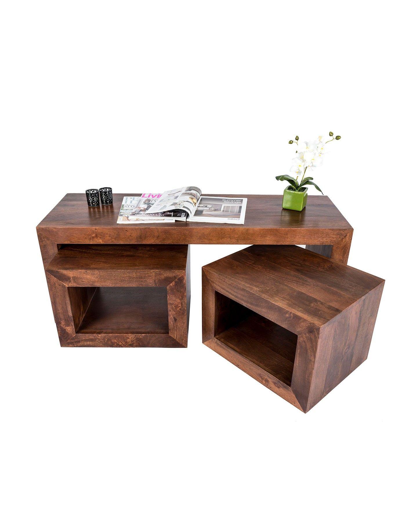 Kaffee Und End Tabellen Eiche Coffee Table Kaffee Tisch Sets Kleinen