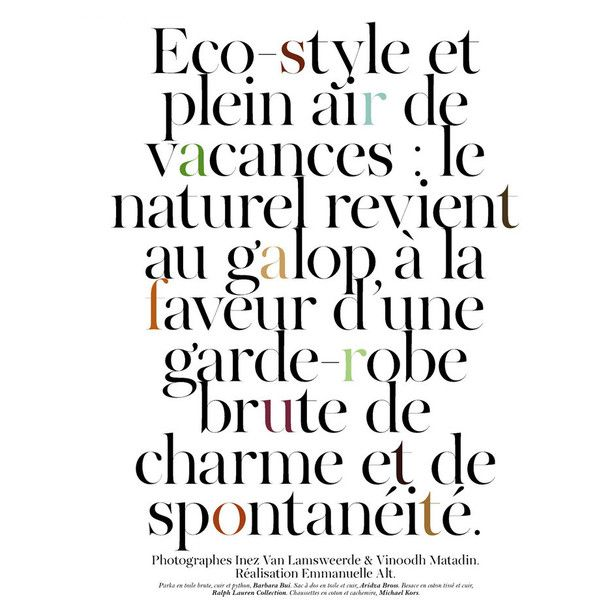 VOGUE Paris April 2011 / Eco-style / Gisele Bundchen 지젤 번천 ❤ liked on Polyvore featuring text, words, quotes, backgrounds, magazine articles, magazine, articles, phrase and saying