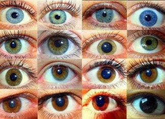 Os Significado da Cor dos olhos