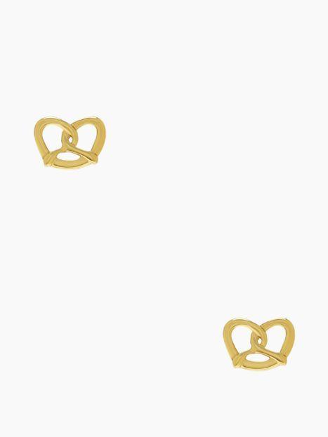Pretzel Earrings Kate Spade Twist And Shout Studs