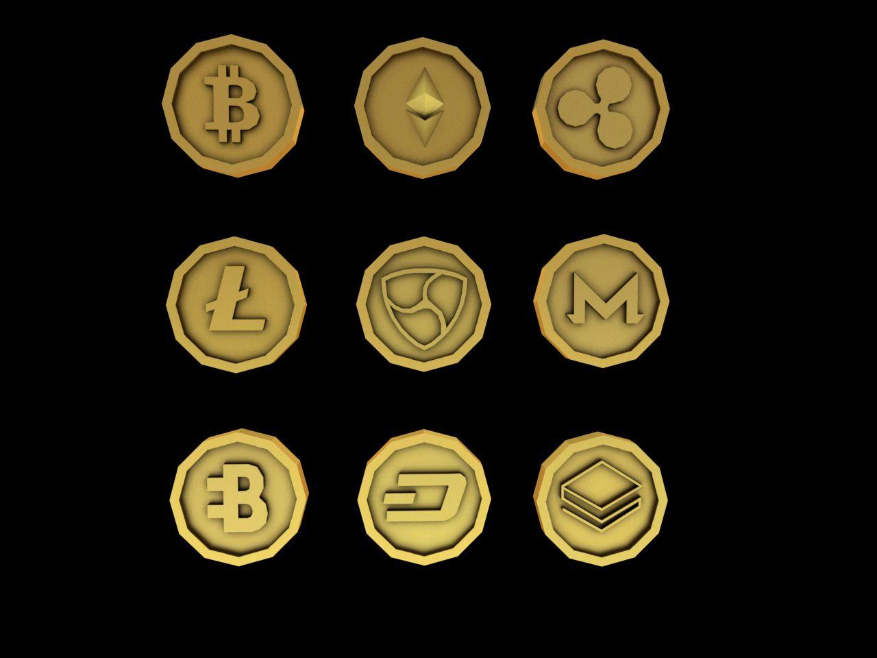 Crypto Coins Crypto coin, Coin design, Crypto currencies