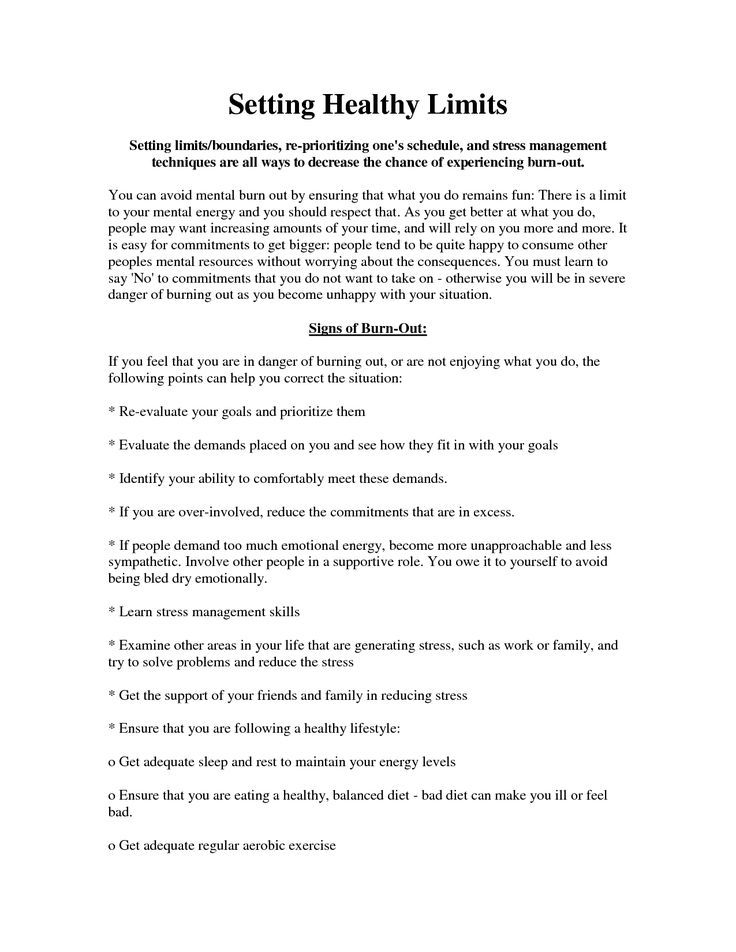 Image result for Healthy Boundaries Worksheet – Setting Personal Boundaries Worksheet