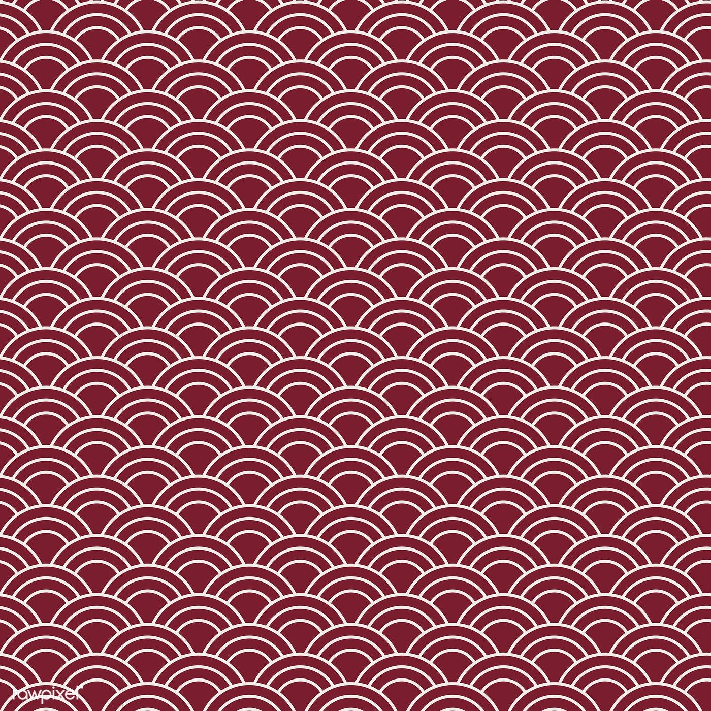 Download Premium Vector Of Seamless Japanese Pattern With Wave