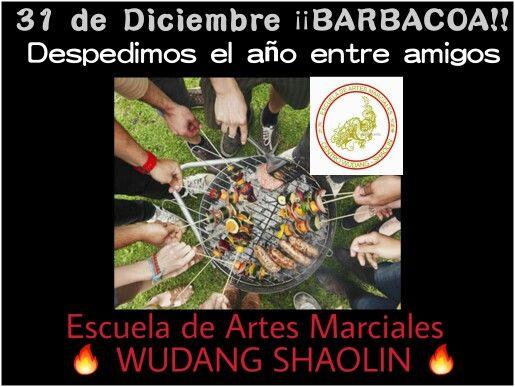 31 de Diciembre: Despedimos el año entre amigos   Escuela de Artes Marciales   WUDANG SHAOLIN