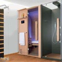 Sauna With Shower Cuna Doccia 200x92 Cuna Collection By Sauna Vita