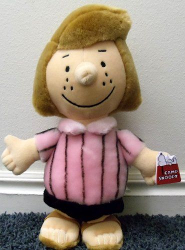"""Peanuts Charlie Brown Hard to Find 12"""" Plush Peppermint Patty Plush Doll Peppermint Patty, GIFTS FOR FRIENDS   if you wish to buy just CLICK on AMAZON right HERE http://www.amazon.com/dp/B004AX6WK0/ref=cm_sw_r_pi_dp_.r.Rsb02MDG9F6A4"""
