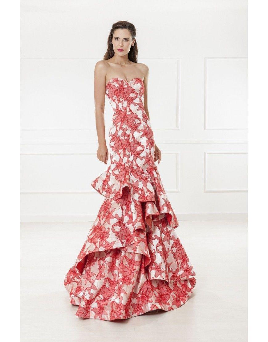 Vestido de fiesta 4823 | Invitada 2018 | Pinterest | Vestidos de ...